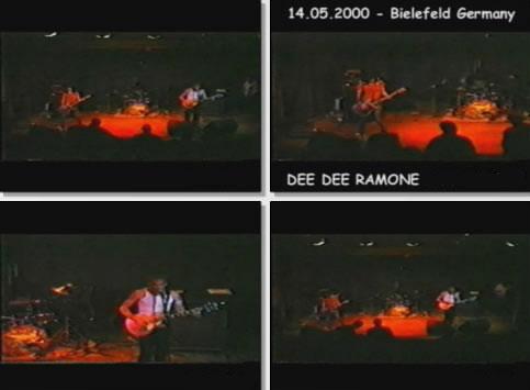 Dee Dee Ramone — Luna Club, Bielefeld, Germany (14.05.2000)