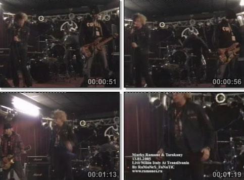 Marky Ramone & Tarakany! — Transilvania Club, Milan, Italy (13.01.2005)